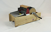 Mad Batt'r Drum Carder: Single Wide