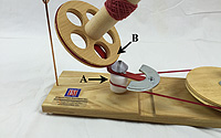 Jumbo Ball Winder:  How it Works