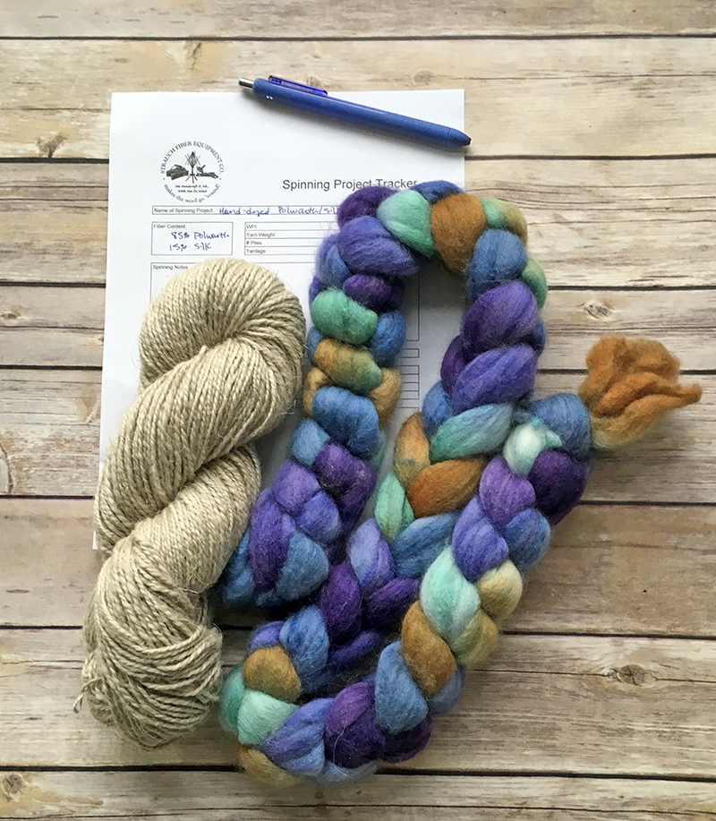 Free printables for fiber prep and handspinning from Strauch Fiber Equiopment Company.