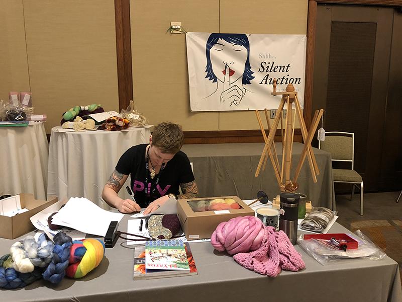 Jacey's Silent auction