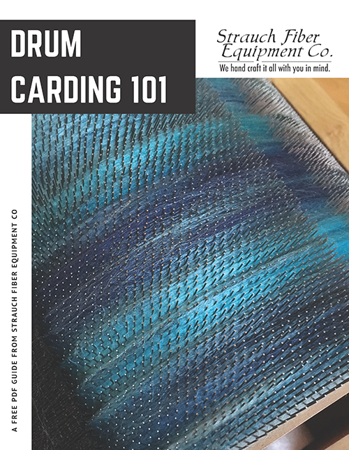 Free PDF Guide - Drum Carding Tips & Tricks