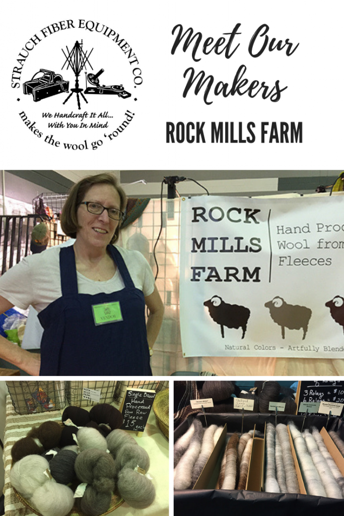 Meet our Makers - Rock Mills Farm on the Strauch Fiber Equipment Blog