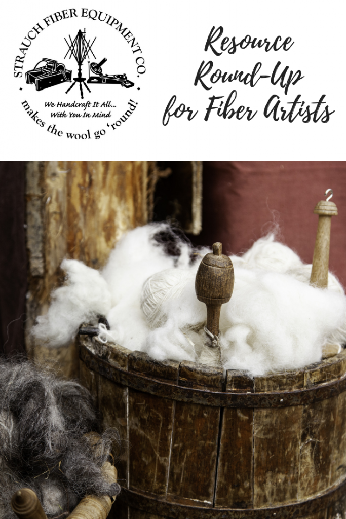 Resource Round-Up for Fiber Artists on the Strauch Fiber Equipment Blog