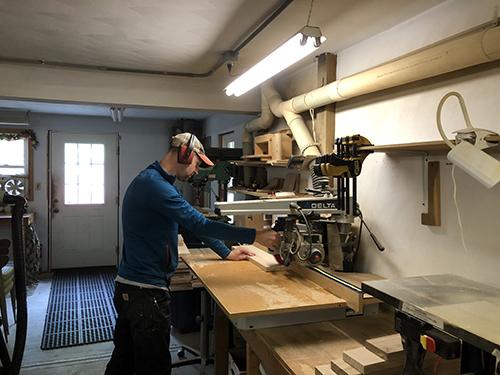 processing wood