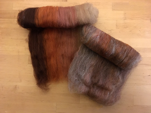 better color blending starts with carding batts multiple times on a strauch drum carder