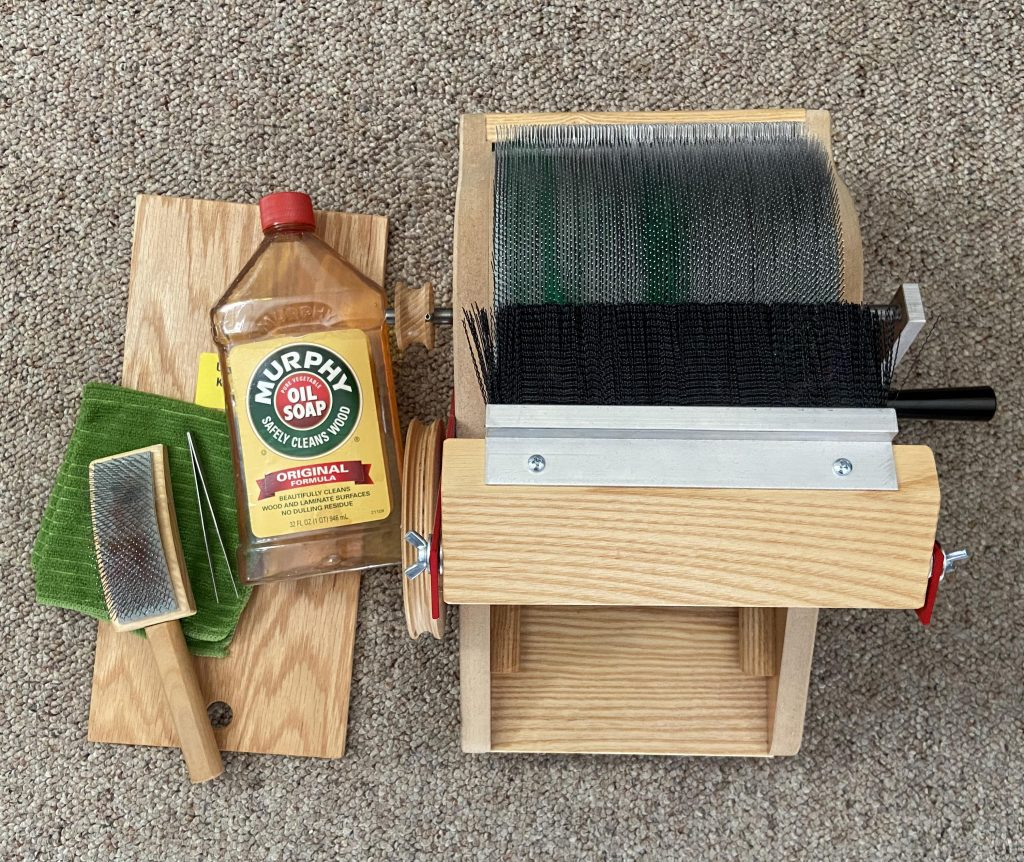 Spring Cleaning Your Strauch Drum Carder