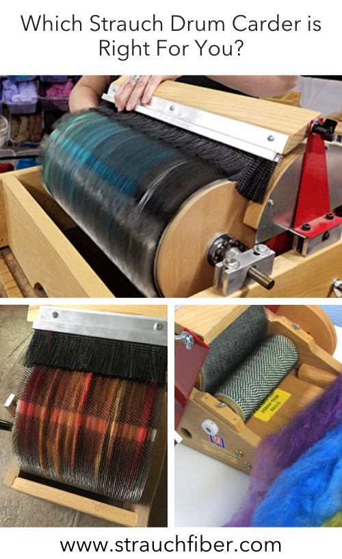 Which Strauch Drum Carder is Right For You?